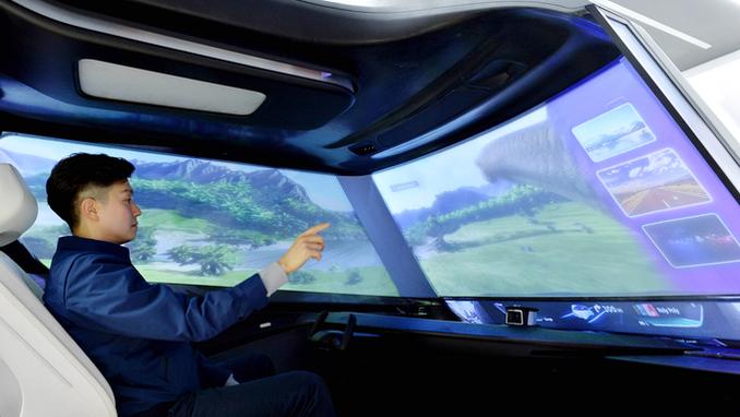현대모비스, '가상공간 터치'등 미래차 新기술 CES에서 공개