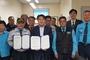 갑을녹산병원, 부산강서모범운전자회 지정병원 협약
