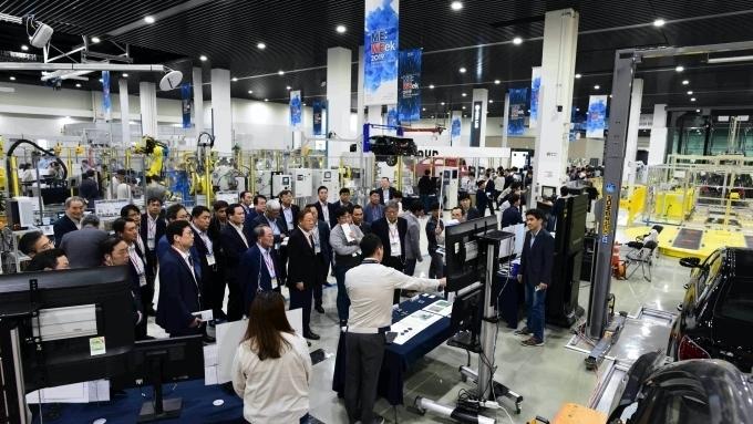 현대·기아차, 신기술 공유의 장 '2019 신 제조기술 전시회' 성료