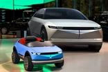 현대차, EV 콘셉트카 45 디자인 어린이 전동차 제작