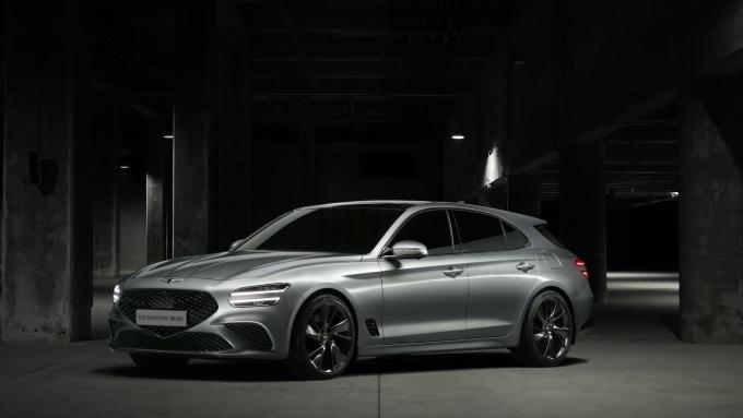 제네시스, 유럽 공략 차종 'G70 슈팅 브레이크' 공개
