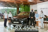 렉서스, 안지현·허다빈·현세린·박상현 프로 'RX 450hL' 홍보대사 선정