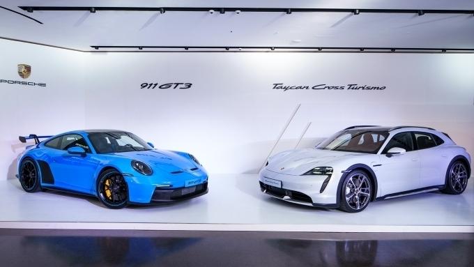 포르쉐, 타이칸 크로스 투리스모·신형 911 GT3 출시